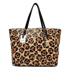 Coach 36452 Wild Beast Leather Tote